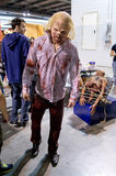 Zombie a Cartoomics 2014 Fotografie Stock Libere da Diritti