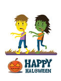 Zombie characters. Stock Images