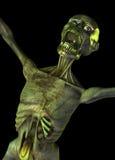 Zombie che sceaming Fotografia Stock