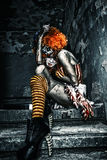 Zombie circus Stock Photos