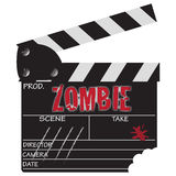 Zombie Clapper Board Stock Photos