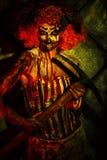 Zombie clown Stock Photography