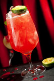 Zombie Cocktail. Zombie Alcoholic Cocktail with Lime Royalty Free Stock Image
