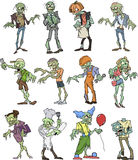 Zombie Collection Royalty Free Stock Image