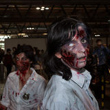 Zombie cosplayers at Cartoomics 2014 Royalty Free Stock Photography