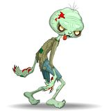 Zombie Creepy Monster Cartoon Royalty Free Stock Image