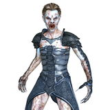 Zombie. 3D CG rendering of a male zombie Royalty Free Stock Images