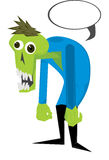 Zombie del fumetto Fotografia Stock