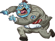Zombie del fumetto Fotografie Stock