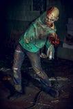 Zombie dell'uomo immagini stock