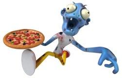 Zombie di divertimento - illustrazione 3D Fotografia Stock
