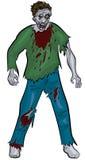 Zombie diritto Immagine Stock Libera da Diritti