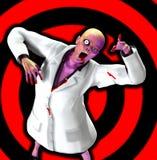 Zombie-Doktor Lizenzfreie Stockfotos