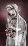 Zombie bride Stock Image