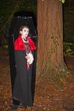Zombie in een doodskist Royalty-vrije Stock Afbeelding