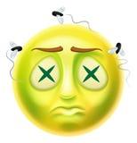 Zombie Emoticon Emoji stock illustration