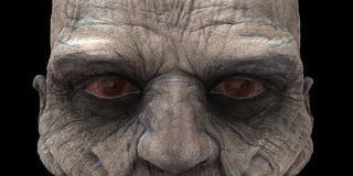 Zombie Eyes Royalty Free Stock Photo
