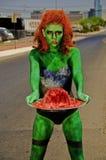 zombie för hjärnplatersilver Arkivbilder