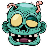 Zombie face Royalty Free Stock Images