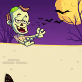 Zombie stock illustration