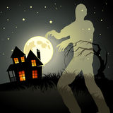 Zombie Ghost! Royalty Free Stock Photography