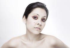 Zombie girl Stock Image