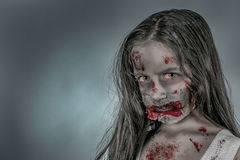 Zombie girl Stock Photos