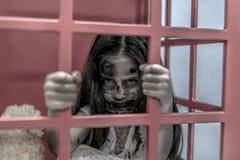 Zombie girl Stock Photos