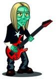 Zombie-guitar Royalty Free Stock Photos