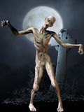 Zombie - Halloween-Abbildung Stockfotografie