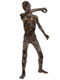 Zombie - Halloween-Abbildung Lizenzfreies Stockfoto