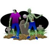 Zombie Halloween Royalty Free Stock Photography