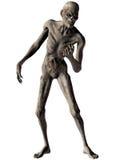 Zombie - Halloween Figure. 3 D Render of an Zombie - Halloween Figure Royalty Free Stock Images