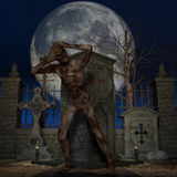 Zombie - Halloween Figure Royalty Free Stock Photography