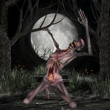 Zombie - Halloween Figure Stock Photography