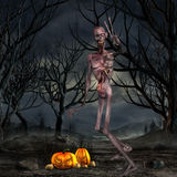 Zombie - Halloween Figure Royalty Free Stock Image