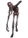 Zombie - Halloween Figure. 3 D Render of an Zombie - Halloween Figure Stock Photography