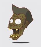 Zombie. Halloween-Monster Vector Illustratie