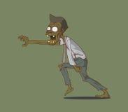 Zombie. Halloween-Monster Stock Foto's
