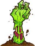 Zombie-Hand Lizenzfreies Stockfoto