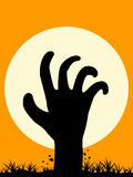 Zombie Hand Royalty Free Stock Images