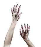 Zombie hands stock images