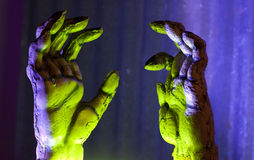 Zombie Hands Reaching Royalty Free Stock Photos