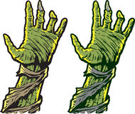 Zombie hands Royalty Free Stock Photo