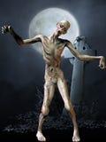 Zombie - het Cijfer van Halloween Stock Fotografie