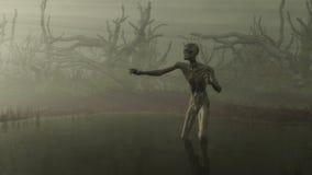 Zombie in het Moeras