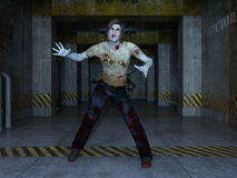 Zombie. Image of a male zombie Royalty Free Stock Photo