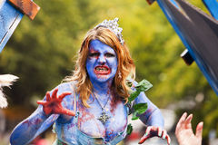 Zombie-Königin Stockbild