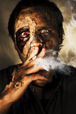 Zombie Killing Some Time Royalty Free Stock Photos