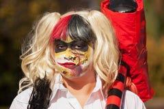 Zombie Maart Hobart royalty-vrije stock fotografie